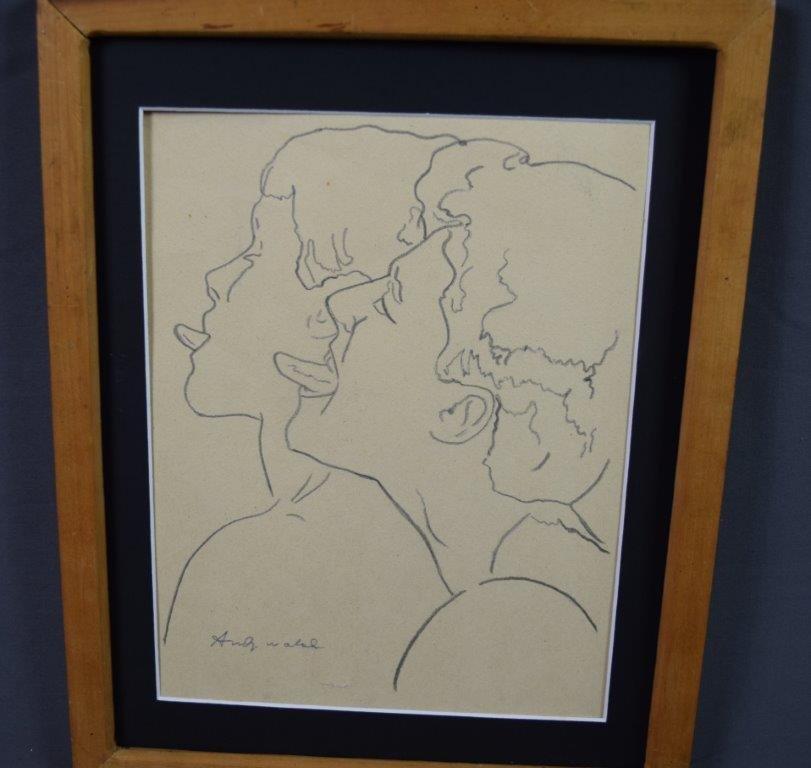 Andy Warhol, Untitled Drawing, (Molly Barnes Gallery) - 2