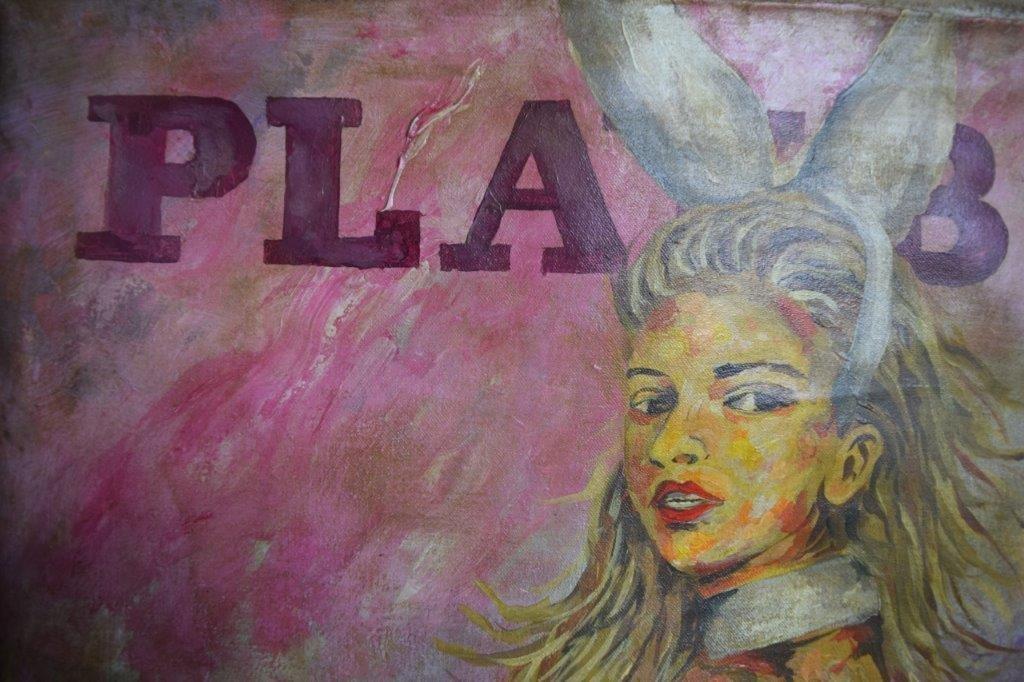 Leroy Neiman, O/C (Playboy) - 2