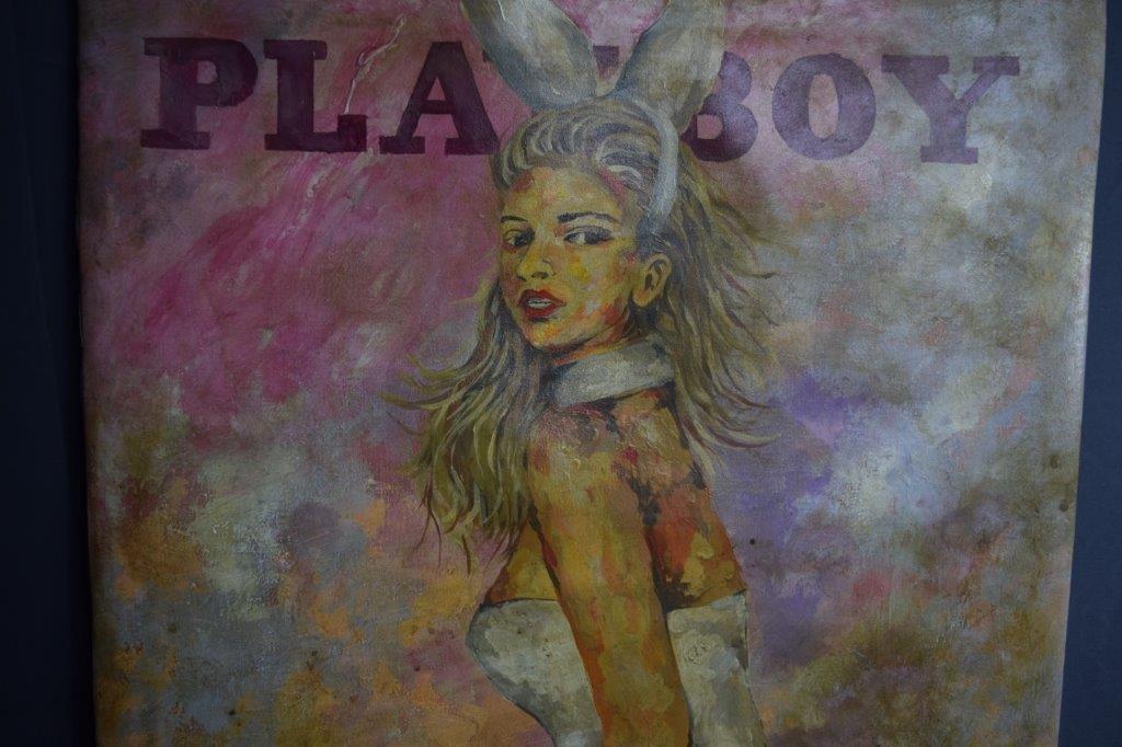 Leroy Neiman, O/C (Playboy) - 3