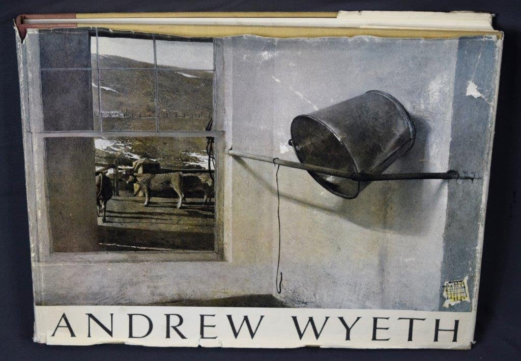 "Andrew Wyeth, Signed Book, ""The Work of Andrew Wyeth"""