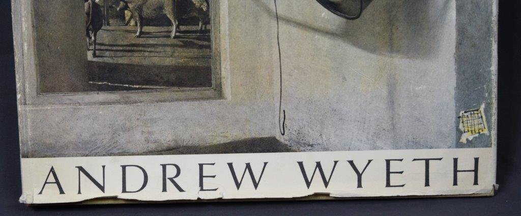"Andrew Wyeth, Signed Book, ""The Work of Andrew Wyeth"" - 2"