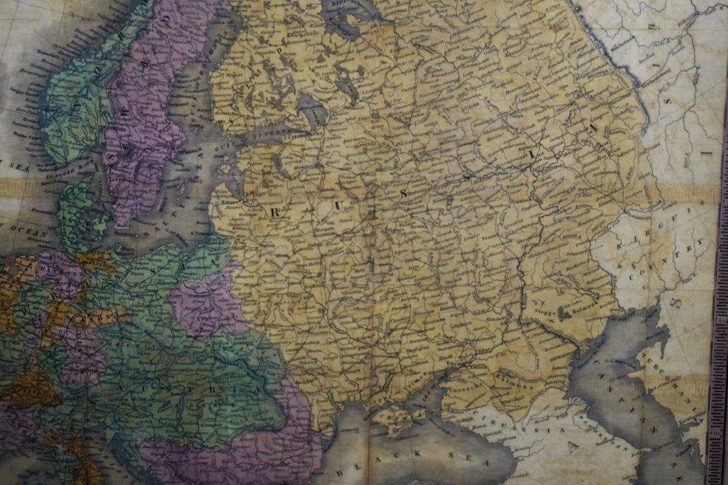 Antique Map of Europe - 2