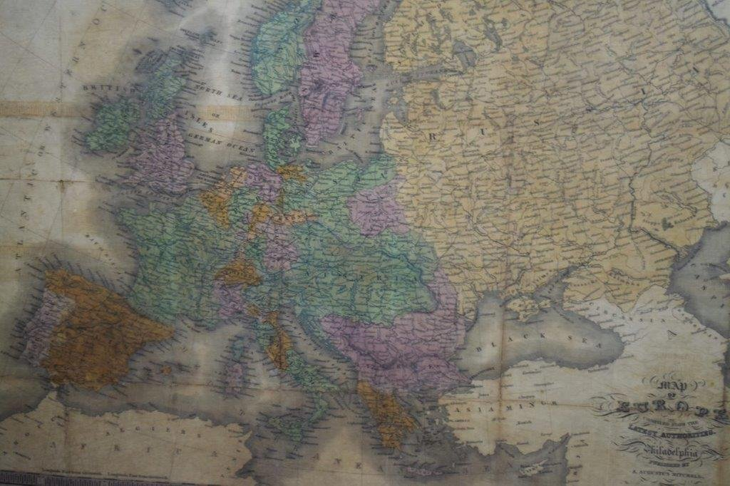 Antique Map of Europe - 4