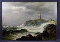 James Gale Tyler, O/C (New England Lighthouse)