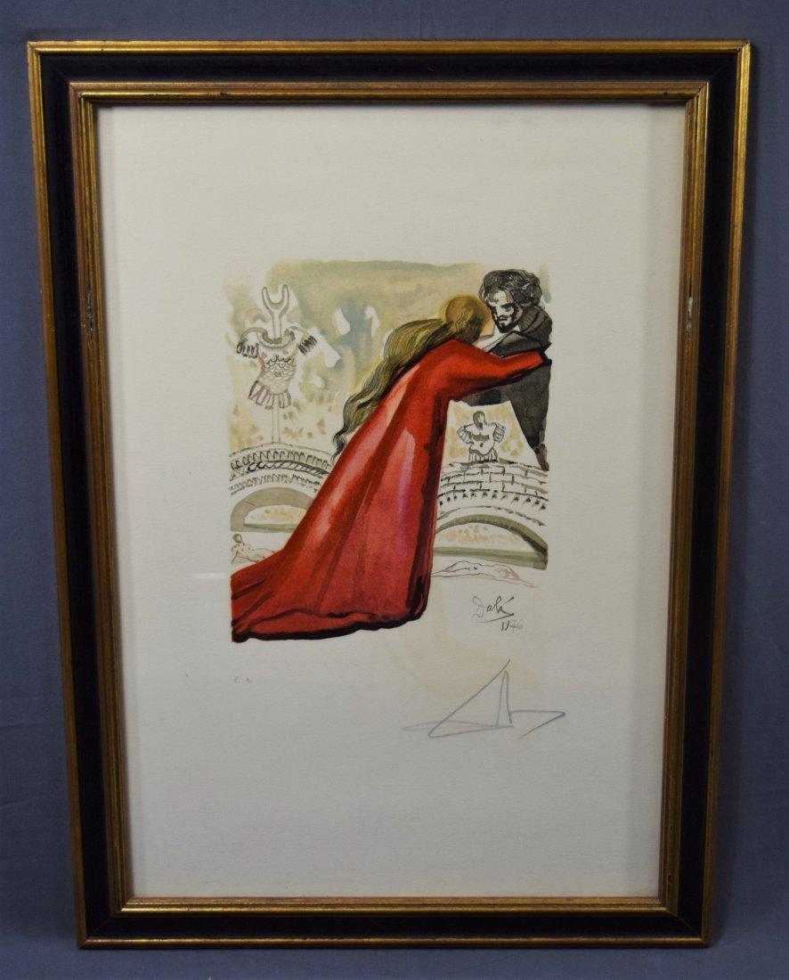Salvador Dali, Lithograph (Pencil Signed & Numbered)