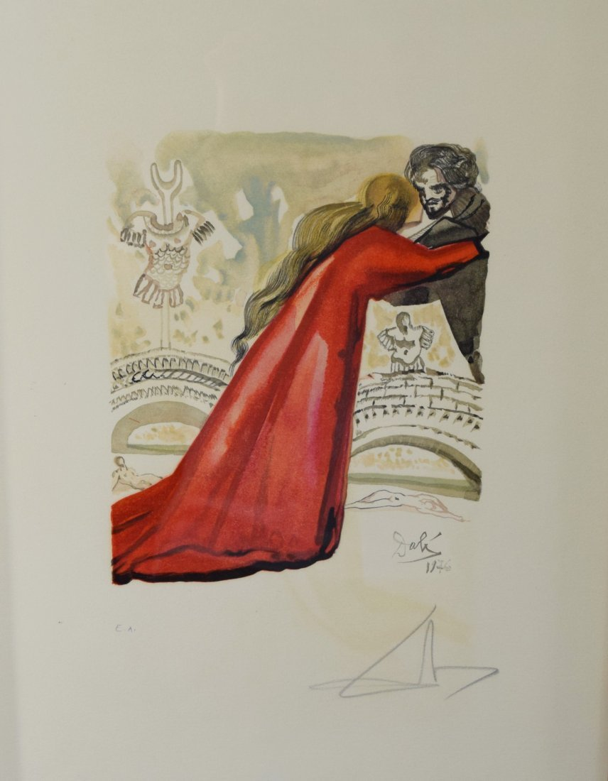 Salvador Dali, Lithograph (Pencil Signed & Numbered) - 2