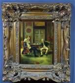 N. Henry Bingham, O/B (European Genre Scene)