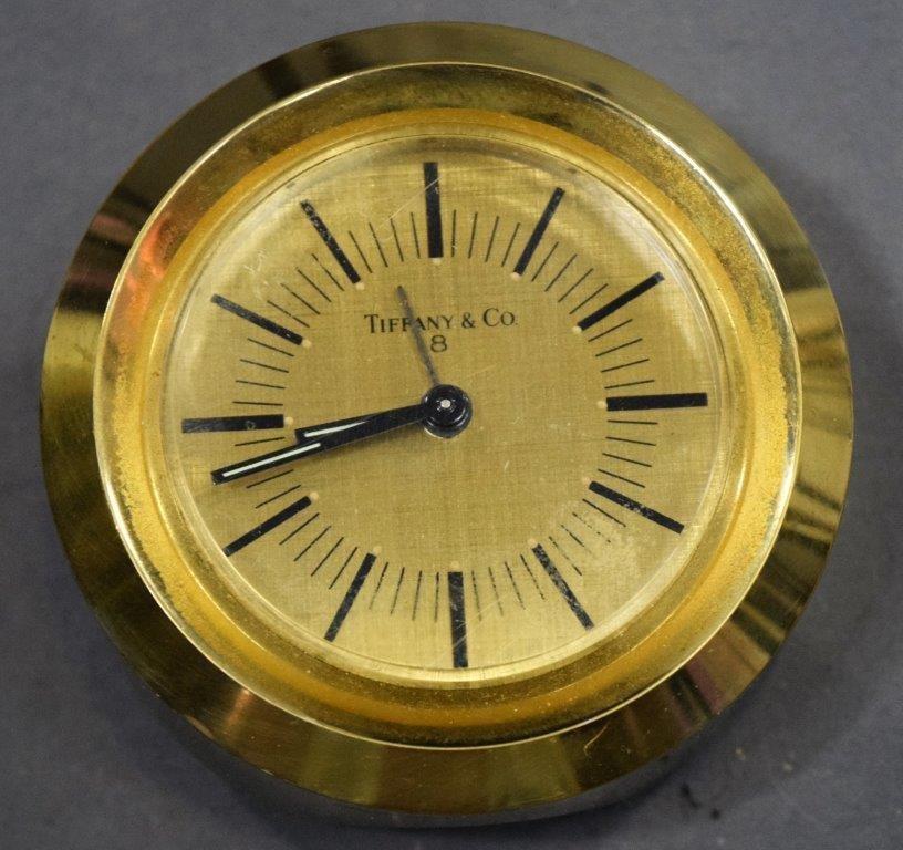 Tiffany & Co, Bronze (Circular Clock)