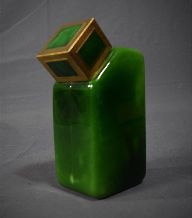 1925 Baccarat YBRY French Art Deco Perfume Bottle