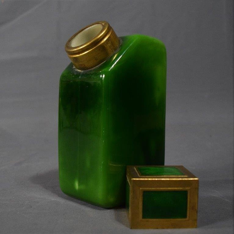 1925 Baccarat YBRY French Art Deco Perfume Bottle - 2