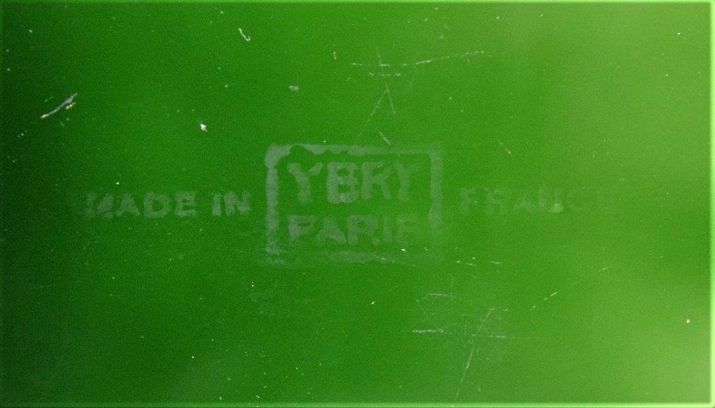 1925 Baccarat YBRY French Art Deco Perfume Bottle - 4