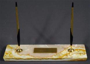 Cross Pens w/Marble Stone Display