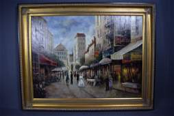European School OC Paris Street Scene