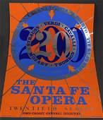 Robert Indiana, Signed Silkscreen (Santa Fe Opera)