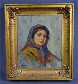 Dante Antonini OC Portrait Weschlers Auction