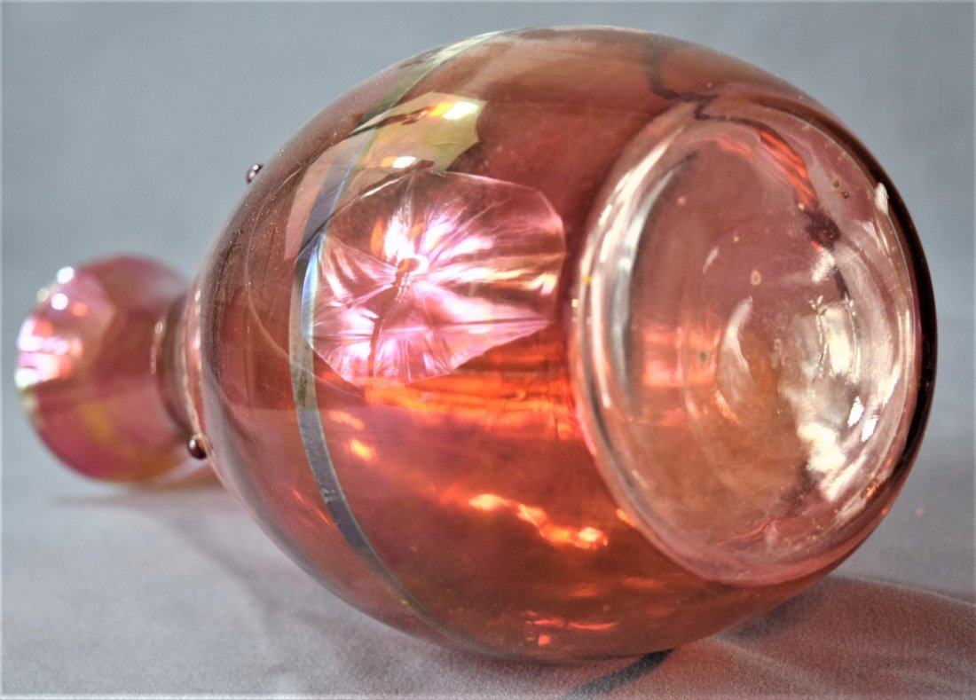 Murano, Red Glass Vases (lot of 2) - 8