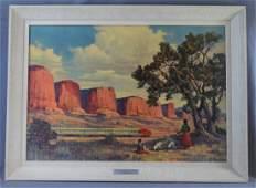 Adolph Heinze, Print (New Mexico)
