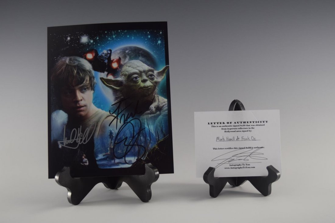 Mark Hamill, Frank Oz, Signed Photograph (Star Wars)
