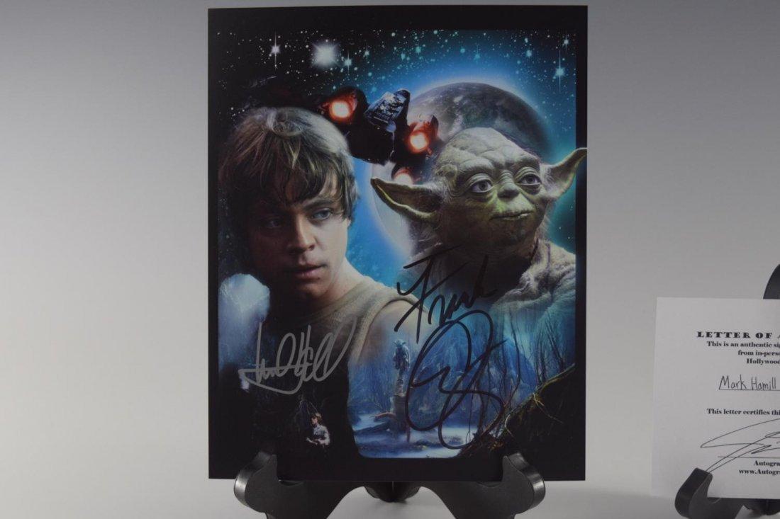 Mark Hamill, Frank Oz, Signed Photograph (Star Wars) - 2