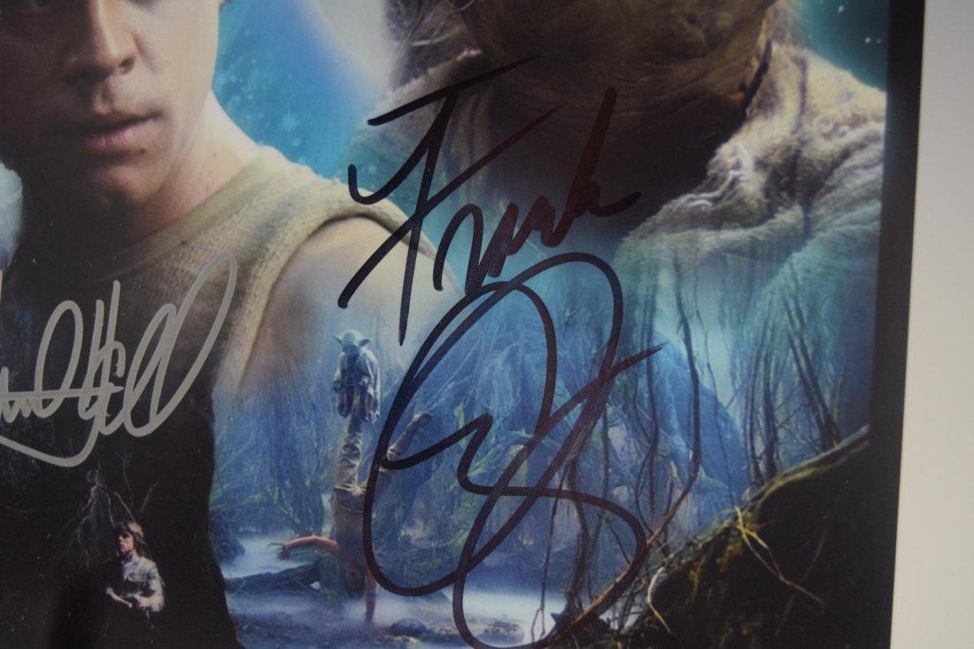 Mark Hamill, Frank Oz, Signed Photograph (Star Wars) - 4