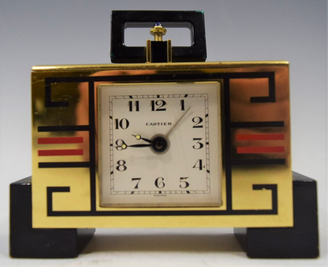 Cartier, Art Deco (Clock)