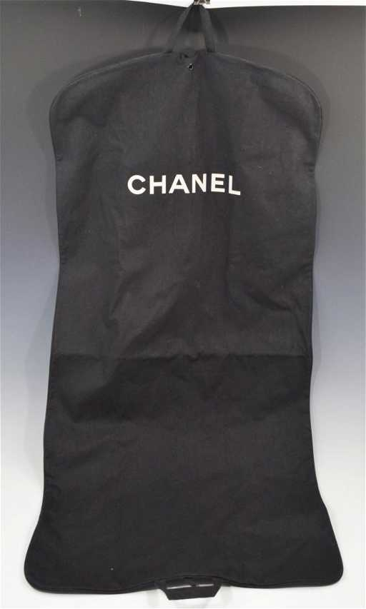 f9748756b5c837 Chanel Garment Bag. placeholder. See Sold Price