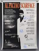 Scarface, Movie Poster (Signed by Cast)