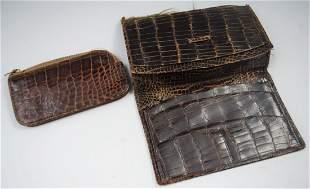 Vintage Alligator Wallet Ladies