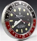 Rolex GMT Dealer Clock