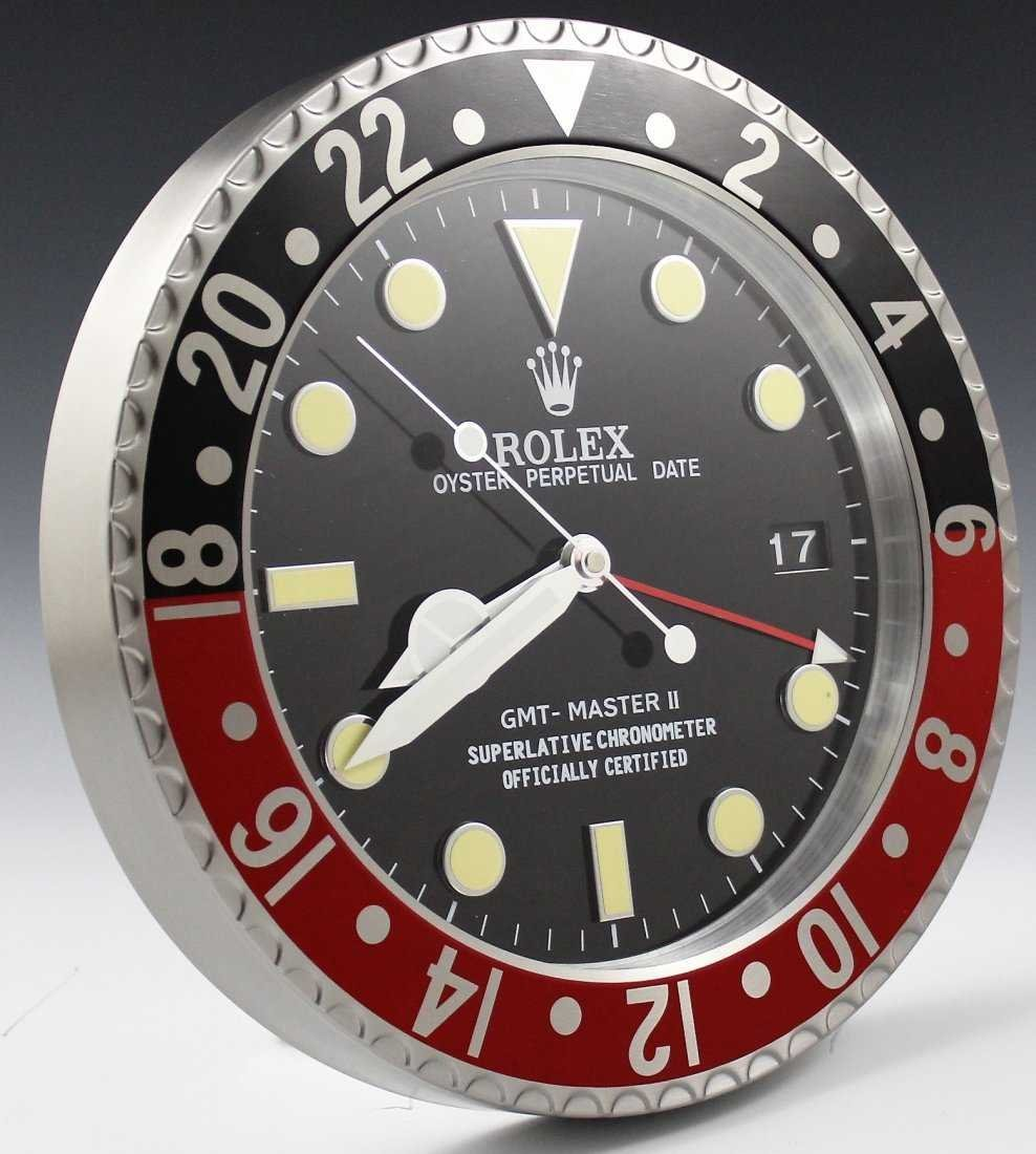 Rolex GMT Dealer Clock