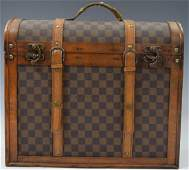 Louis Vuitton Antique Case Leather and Wood
