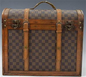 Louis Vuitton Antique Case (Leather and Wood)