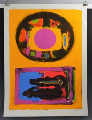 John Grillo, Signed, Numbered Lithograph