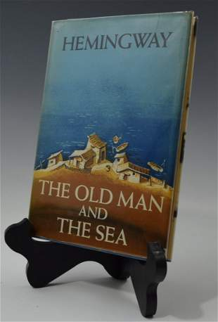 Ernest Hemingway, Signed Book (The Old Man and the Sea)