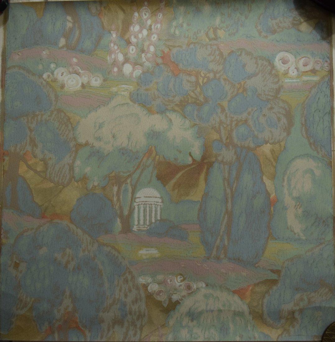 Charles Burchfield, Wallpaper Design