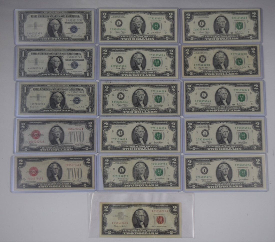 U S  Currency Sheet