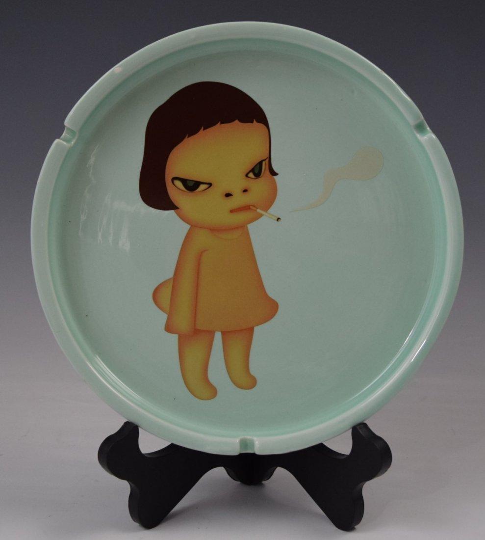 Yoshitomo Nara, Art Ashtray (Ceramic)