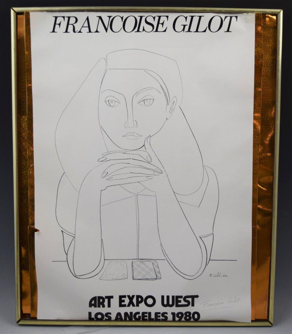 Francoise Gilot, Signed Poster