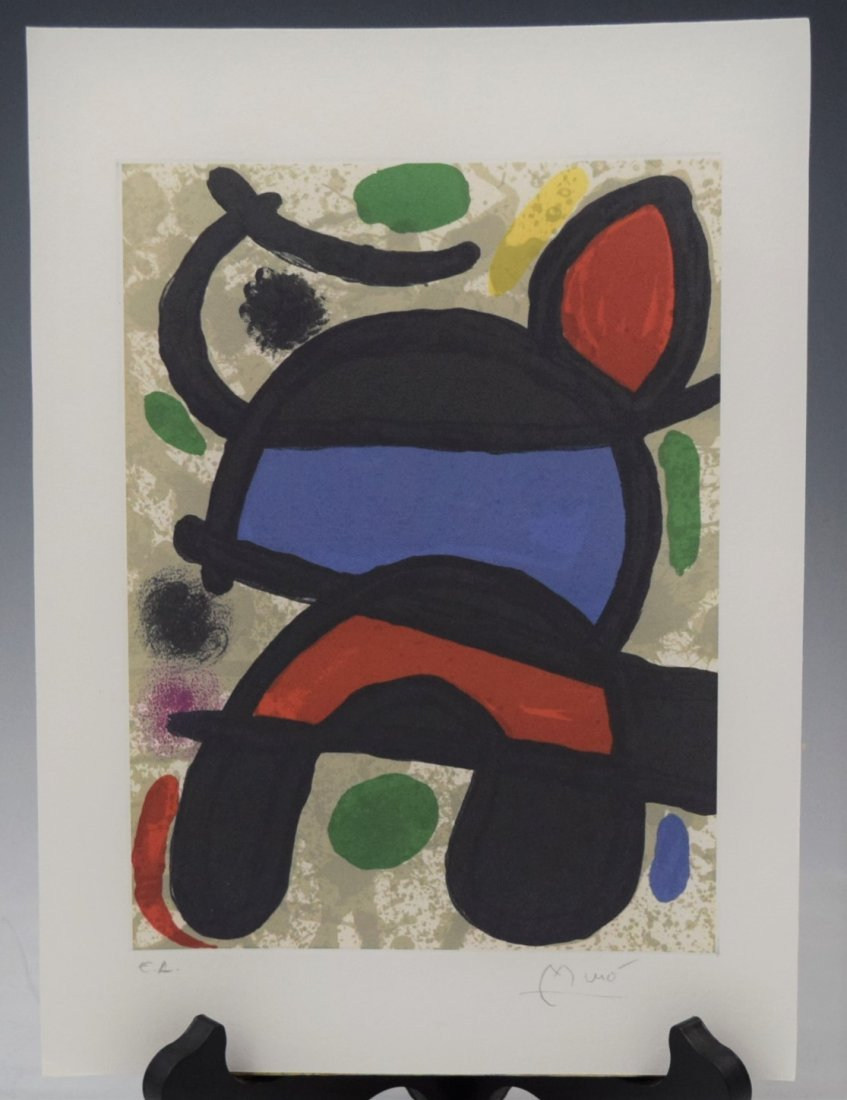 Joan Miro, Signed, Numbered (Print)