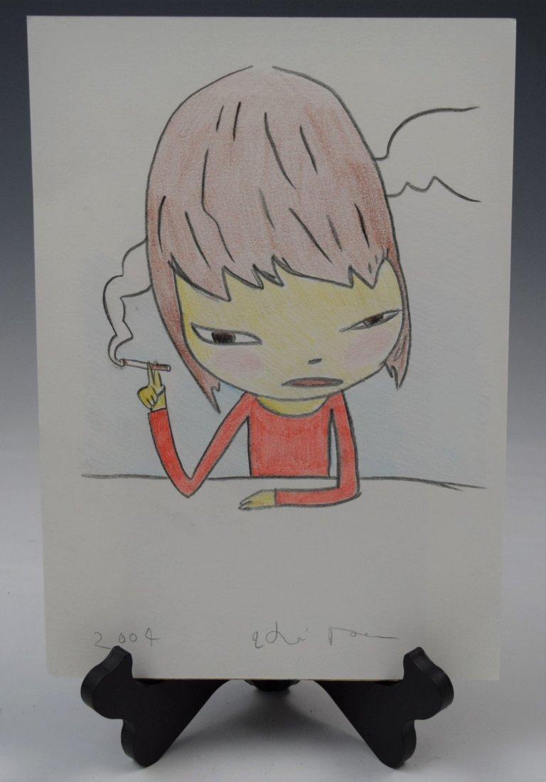 Yoshitomo Nara, Drawing (Untitled)