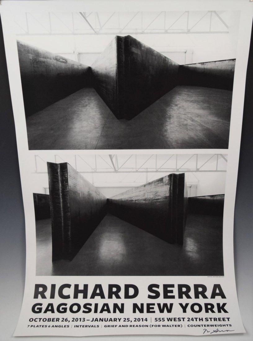 Richard Serra, Signed Posters (Lot of 2)