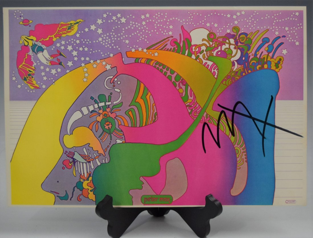 Peter Max, Signed Poster