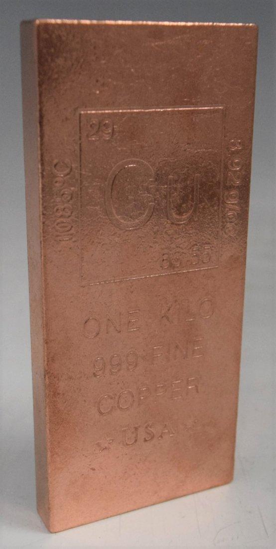 1 Kilo Copper Bar
