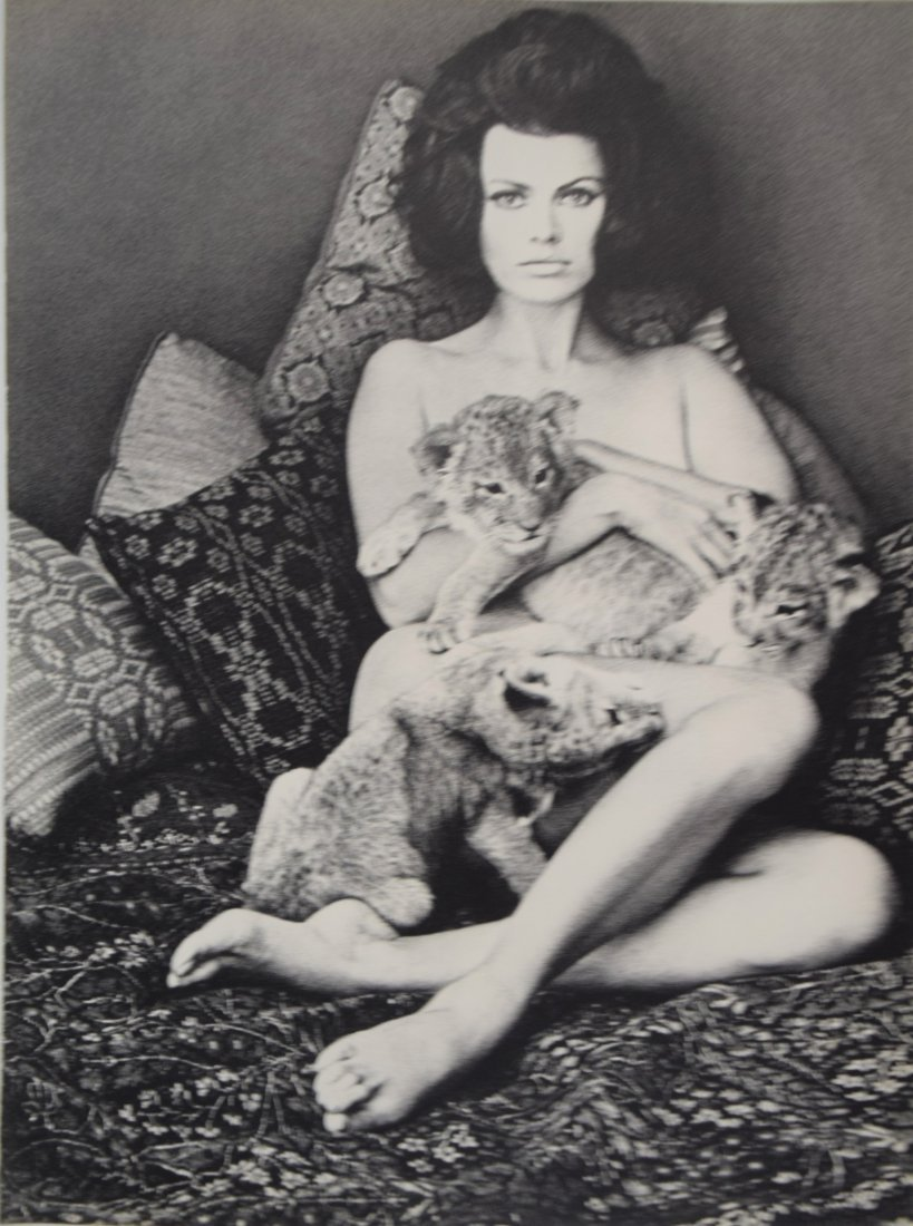 Wingate Paine -  Nude with Cats