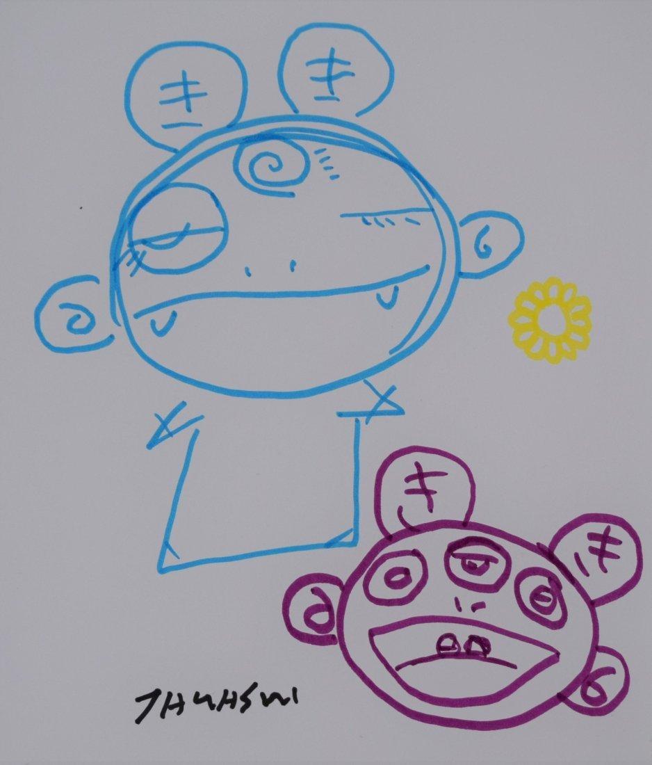 Takashi Murakami - Untitled (Drawing)