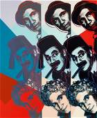 After Andy Warhol Marx Brothers Print Wove Paper