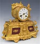 Tiffany & Co. Bronze (Figural Clock)