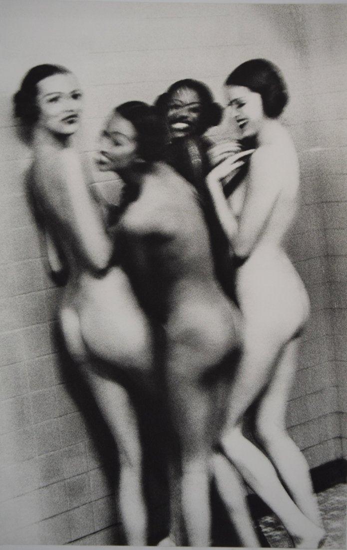 Ellen Von Unwerth - Four Girls in Shower 1993