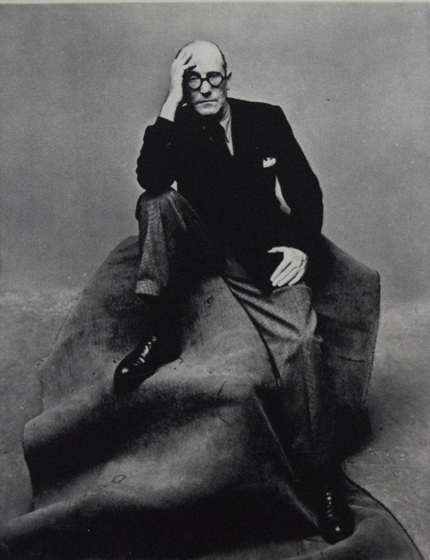 Irving Penn - Le Corbusier, New York, 1947
