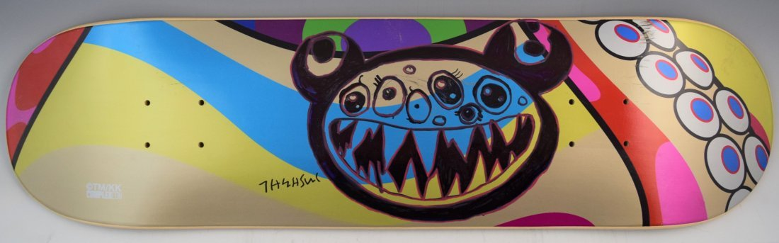 Takashi Murakami - Painted ComplexCon Board